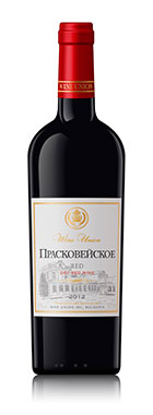 "Red dry wine ""Praskoveyskoe"""